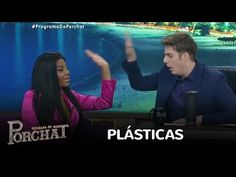 Com novas plásticas, Ludmilla sofre para dar entrevista a Porchat