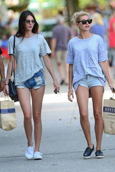 denim cutoff shorts