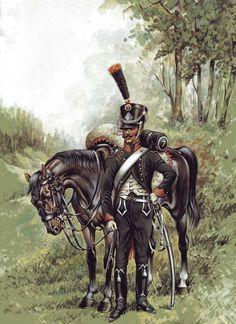 Cacciatore della linea francese