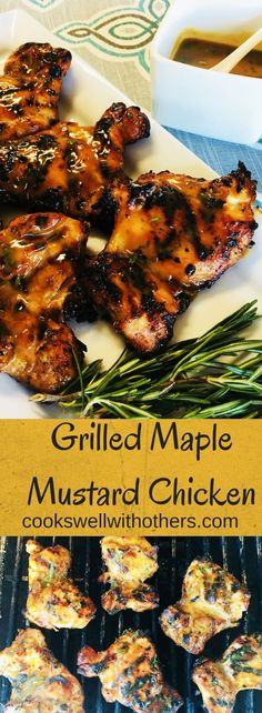Grilled Maple Mustard Chicken