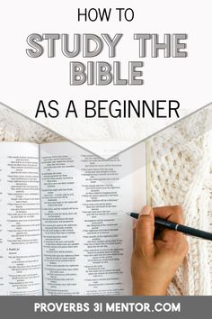 Do you want to study the Bible on your own, but aren't sure where to start? Let these practical Bible study tips help you understand Scripture in a fresh way and create a thriving quiet time routine. Family Bible Study, Bible Study Plans, Bible Study Notebook, Bible Study Guide, Bible Study Journal, Bible Study On Prayer, Bible Studies For Beginners, Bible Journaling For Beginners, Prayer Scriptures