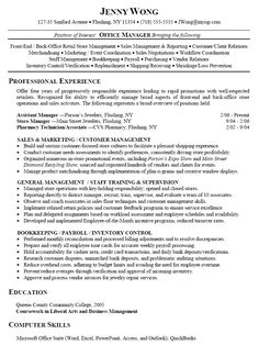 Functional Resume Format Example  Google Search  Cool Stuff