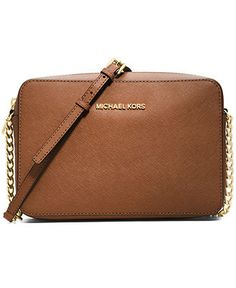 7d804dc1279f Michael Kors Jet Set Travel Large Crossbody   Reviews - Handbags    Accessories - Macy s