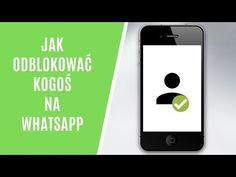Jak odblokować kogoś na WhatsApp? - YouTube Youtube, Youtube Movies