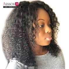 6A Brazilian Kinky Curly Full Lace Human Hair Wigs Glueless Full Lace Wigs Virgin Human Hair Full Lace Front Wigs With Baby Hair