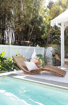 Uniqwa's beautiful Mykonos Lounger perfect for relaxing by the pool at Barrel an. - f f & e - Uniqwa's beautiful Mykonos Lounger perfect for relaxing by the pool at Barrel and Branch in Byron -