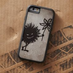 Vintage Evil Bug Gives Flower Protective #iPhone 6 #Case $52.95 #iphonecase #iphone6 #halloween #gothic