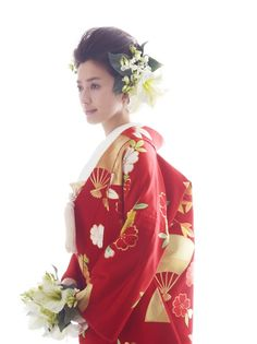 引き振袖|ハツコ エンドウ ウェディングス(Hatsuko Endo Weddings) 銀座店|ハツコ エンドウ ウェディングス(Hatsuko Endo Weddings) 銀座店|ウ...