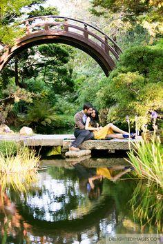 Japanese Tea Garden Engagement
