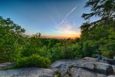 Hiking Trails in Ohio  3. Ledges and Pine Grove Loops (Cuyahoga Valley National Park)