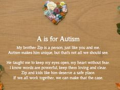 We're trying to make conversations about autism easy for kids (and adults too!)