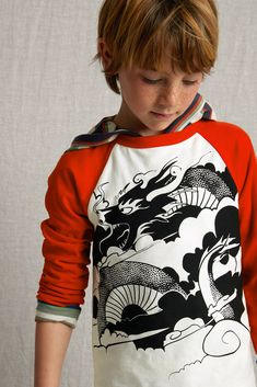 Rainy Day Step on The Puddle Boys All cottonT Shirts Graphic forBoys Shirts Simple Parttern