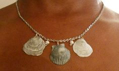 Jewelry Sea Shell Necklace Shell jewelry by JewelryByAnnette, $12.00