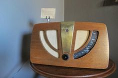 Vintage radio at the Zetter Hotel & Townhouse,