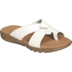 Women's Aerosoles Adjustment Sandal Faux (US Women's M (Regular))