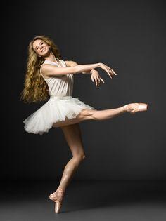 New York City Ballet's Sterling Hyltin, photographed by Henry Leutwyler