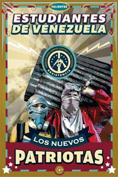 Nuevos Patriotas 02. Tributo a los valientes estudiantes venezolanos. #12F
