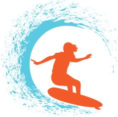 Create surfer designs using the clip art from the Decorating and ...