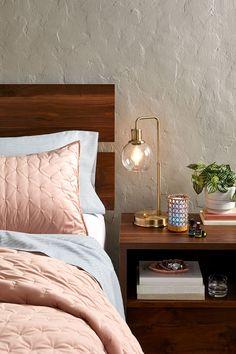 Montclair Nightstand. #bedroom #furniture #vintage #walnutfinish #nightstand #bedsidetable #nightstanddecor #homedecorideas #nightstandideas #nightstandstyle #nightstandstyling