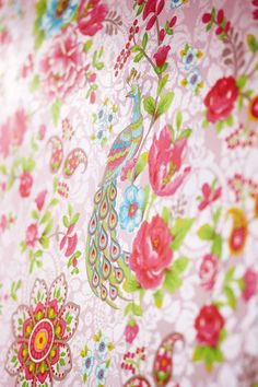 adelaparvu.com despre tapete Pip_Flowersinthemix_pink_01-Pip Studio