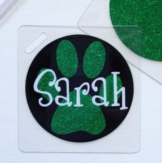 Sport Bag Tag Drill Team Gift Cheer Team Gift by Toddletags, $5.95