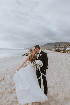 A Blush + White Malibu West Beach Club Wedding   Rachel Wakefield Photography on @overwhelmbride via @aislesociety