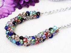 #Epic bohochic glamorous statement necklace & bracelet set