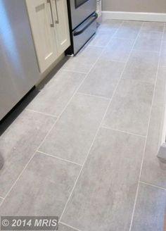 bathroom flooring Kitchen Grey Floor House 70 Ideas For 2019 - Grey Kitchen Tiles, Grey Floor Tiles, Ceramic Floor Tiles, Grey Kitchens, Bathroom Floor Tiles, Grey Flooring, Porcelain Tile Flooring, Gray Tile Floors, Kitchen With Tile Floor