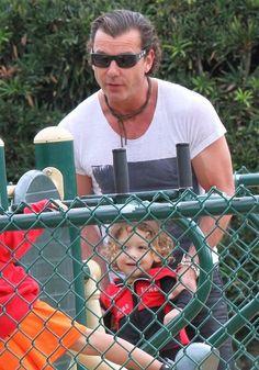 Apollo Rossdale Photos Photos: Gavin Rossdale Watches His Son's Soccer Game Gavin Rossdale, Ventura County, Soccer Games, Photo L, Kingston, Apollo, Sons, Watches, Park