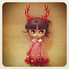 New design Christmas set.#blythedoll #blythe - @kuloft- #webstagram