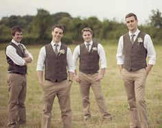 Ideas for Bridesmaid and Groomsmen Attire at a Second Wedding | I Do Take Two