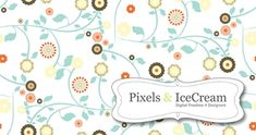650+ Free Photoshop Patterns - great for digital scrapbooking and website backgrounds.