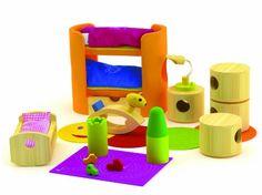 Hape Trendy Nursery In Bamboo - List price: $49.99 Price: $28.16 Saving: $21.83 (44%) + Free Shipping