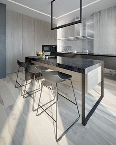 Фото — Minimal-techno — Design of apartments