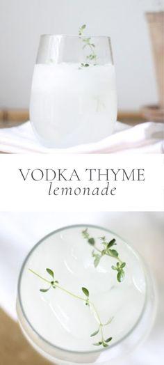 Lemonade Cocktail, Cocktail Drinks, Cocktail Recipes, Drinks Alcohol Recipes, Alcoholic Drinks, Beverages, Fun Easy Recipes, Summer Recipes, Peach Vodka