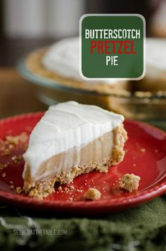 Sweet and Salty Butterscotch Pie by SeededAtTheTable.com