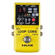 NUX core looper guitar effects pedal. 6 Hours of Looper Recording Time. Built-in Drum Patterns. Infinite looping. Free shipping