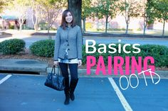 Basics Pairing  OOTD  Mulberry, Zara, Ann Taylor, & Michael Kors