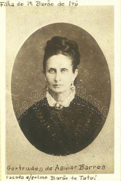 Baronesa de Tatuí - Gertrudes Eufrozina de Aguiar Barros