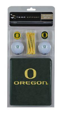 Team Effort NCAA Golf Gift Set - University of Oregon