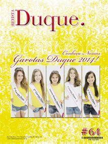 Revista Duque edição 64, 2014; 48 páginas, acabamento lombada quadrada (veículo de comunicação do Clube Duque de Caxias, Curitiba-PR)