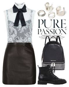 """""""Sep 2nd (tfp) 2138"""" by boxthoughts ❤ liked on Polyvore featuring Philosophy di Lorenzo Serafini, Michael Kors, Giuseppe Zanotti, River Island and tfp"""