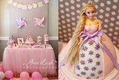 Tangled + Rapunzel Birthday Party planning ideas via Kara's Party Ideas - www.karaspartyideas.com