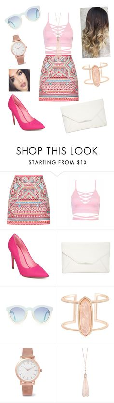 """""""Untitled #146"""" by catia-santos on Polyvore featuring Accessorize, Style & Co., Kendra Scott, Larsson & Jennings and Oasis"""