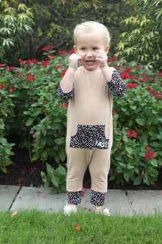 Baby/Toddler Style: Rompers #floralromper
