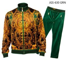 Suit Yourself Menswear is a premier mens clothing store catering to the fashion conscious man Versace Suits, Versace Jacket, Versace T Shirt, Versace Men, Versace Tracksuit, Track Suit Men, Cream Shirt, Casual Suit, Brown Shorts