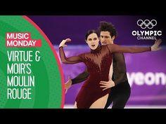 Tessa Virtue and Scott Moir's Moulin Rouge at PyeongChang 2018 | Music Mondays - YouTube