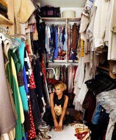 Nicole Richie's closet