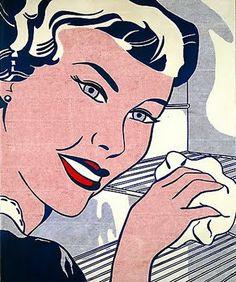 1962 - man with foldedarms (Cezanne) 1962 - non objective 1962 - port m cezanne 1962 - refrigerator 1962 - sock Roy Lichtenstein Pop Art, Art Pop, Industrial Paintings, Pop Art Movement, Popular Art, Famous Art, American Artists, Art History, New Art