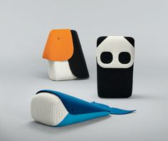 textile zoo animals by Ionna Vautrin